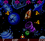 Galaga - Destination Earth